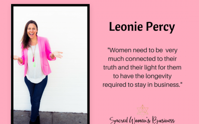 Feminine Leadership Summit interview with Leonie Percy and Lisa Fitzpatrick.